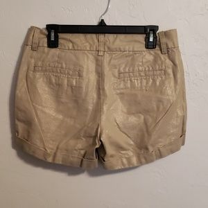 ana Gold Cuffed Shorts 8